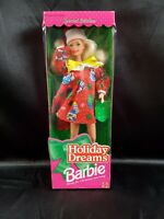 1994 Holiday Dreams Barbie Doll #12192, Christmas Doll Mattel stocking stuffers
