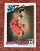 2018-19 Donruss Optic COLLIN SEXTON Rated Rookie #180 Base RC Cavaliers Cavs🔥