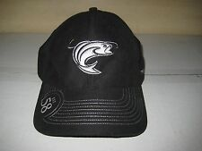 "Brand New Stren Fishing Line ""Fish"" Est 58 Baseball Cap Hat -Adjustable - Black"