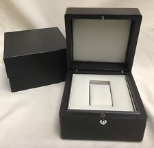 Box-no watch-Cream Leather Interior New Men's Presentation Watch Case & Storage