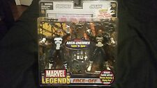 MARVEL LEGENDS FACE-OFF PUNISHER VS. JIGSAW ARCH-ENEMIES TOY BIZZ