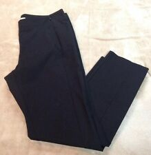 DKNYC Womens Ankle Dress / Casual Pants Black ~ Size 6 NWT
