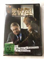 EIN FALL FÜR ZWEI - EIN HAUS IN FRANKREICH / TODFREUNDE - DVD - NEU & OVP