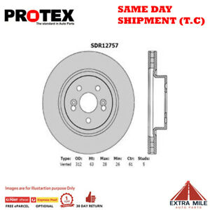 Protex Ultra Select Front Rotor Pair For RENAULT CLIO/MEGANE 2.0L