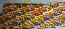 Wassertransferdruck Folie USA Flagge Dollar - 50cm breit