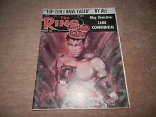 The Ring Boxing Magazine Cassius Clay Muhammad Ali Cover February 1975 Foreman
