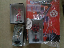 "SHAZAM MARY MARVEL BLACK DC SUPER HERO COLLECTION -Lead  figure 3""  AND 2 OTHERS"