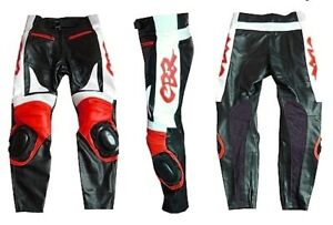 CBR Cuir de Motard Pantalon Pantalon Moto en Cuir Biker en Cuir Pantalon 48,54