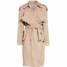 56acce6f3 Suede Trench Coats for Women