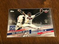 2019 Topps Opening Day Baseball 150 Years of Fun - Ronald Acuna Jr. - Braves