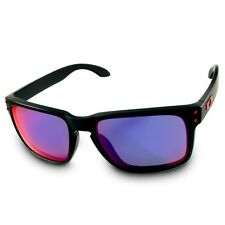Oakley Holbrook OO 9102-36 Matte Black/Positive Red Iridium Unisex Sunglasses