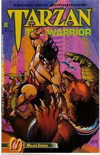 LOT DE 3 EDGAR R. BURROUGHS TARZAN THE WARRIOR # 1 2 3 MALIBU COMICS EN VO 1992