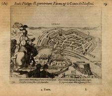 Antique Print-VENLO-NETHERLANDS-LIMBURG-Baudartius-1616