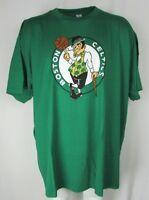 Boston Celtics Men's 6XL Green Short Sleeve Majestic 100% Cotton T-Shirt