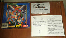 FINAL FIGHT ERBE ESPAÑA CAPCOM 1991 COMMODORE 64 COMPLETE MANUAL BOX CASSETTE