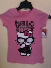 Nwt Hello Kitty Short Sleeved Shirt Youth Size 10