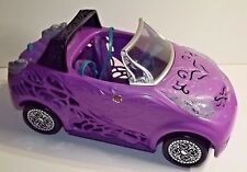 Monster High Doll Scaris City of Frights Purple Convertible Car MATTEL 2012
