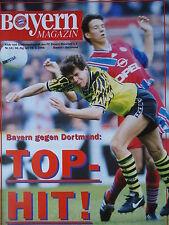 Programm 1994/95 FC Bayern München - Borussia Dortmund