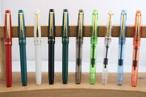 Wing Sung No. 3001 Extra Fine Fountain Pens, 10 Finishes, UK Seller