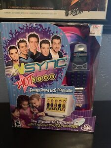 NSYNC Hotline Fantasy Phone and CD-ROM Game (PC, 2001)