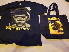 The Weeknd Madness Fall Tour 2015 Large Shirt +Vip Tote Bag package Travis Scott