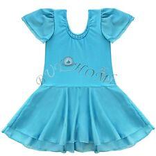 Girl Kid Gymnastic Ballet Leotard Tutu Dress Ballerina Dance Wear Outfit Costume