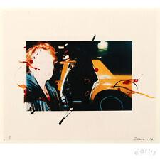 REBECCA HORN ORIGINAL FOTOGRAFIE NEW YORK 1997 YELLOW CAB LIMITIERT VP: 500,-€*