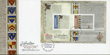 Gibraltar 2015 FDC Magna Carta Octocentenary 800th Anniv 2v M/S Cover Stamps