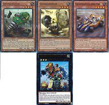 Geargia Complete Deck - Geargiarmor  - Geargiauger - Geargiano  - 55 Cards