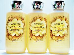 Bath Body Works WARM VANILLA SUGAR Luxury Bubble Bath, 10oz/295 mL, NEW x 3