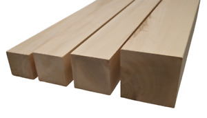 Hilwood Balken Vierkantholz Buchenbalken Kantholz Buche 7 x 7 cm, 9 x 9, 10x10