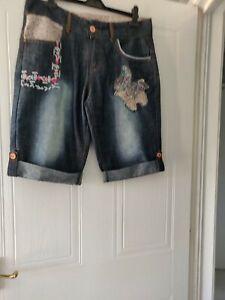 Joe Brown Ladies Denim Shorts Nwot