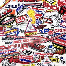 70 Random Stickers Motocross Motorcycle Car ATV Racing Bike Helmet Decal