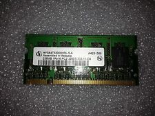 Memoria SoDimm DDR2 Infineon HYS64T32000HDL-5-A 256MB PC2-3200 400MHz CL3 200