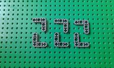 6 x Nuevo Lego Technic liftarm 3 X 3 L-forma delgada no: 4211574 Gris Oscuro Blush