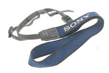 GENUINE SONY BLUE SHOULDER / CARRY STRAP FOR ICF2001D PORTABLE RADIO & OTHERS
