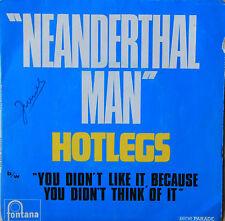 """Vinyle 45T Hotlegs """"Neanderthal man"""""""