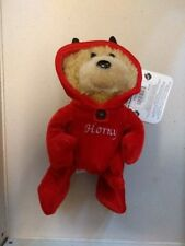 Bad Taste Bears Plush, Horny, BNWT, 10.5cm