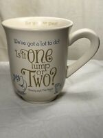 Beauty and the Beast For You Our Guest Coffee Mug Disney Hallmark Mrs Potts Chip
