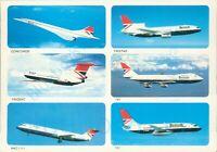 Concorde Tristar Trident 747 BAC 1 11 737 British Airways