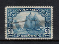 Canada #158iii Very Fine Used Man On The Mast Variety **With Certificate**