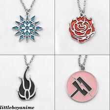 RWBY Ruby Rose Gambol Shroud Metal Pendant Necklace Zinc Alloy Fashion Pendants
