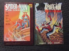 1992 SPIDER-MAN Way To Dusty Death NM SIGNED & Soul Of The Hunter VF+ 1st Print