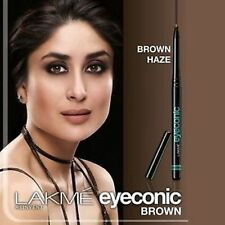 Lakme Eyeconic Brown Eyeliner Pencil Kohl Waterproof 10hr Long Lasting No Smudge