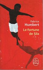 Livre de poche la fortune de Sila Fabrice Humbert book