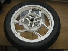 """Kawasaki GPX750 Front Wheel & Legal Bridgestone Battlax BT-17F Tyre 120/80-16"""""""