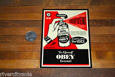 Obey Giant Shepard Fairey Large Coup D'etat Spray Can Sticker Decal Andre