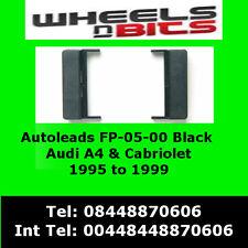 FP-05-00 pour AUDI A4 Cabriolet 95-99 Noir Fascia Panneau Avant Adaptateur Panel Surround
