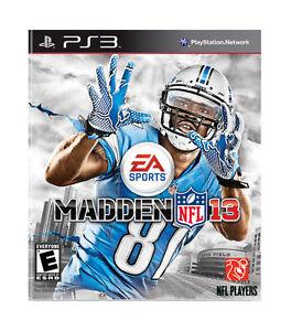 MADDEN NFL 13 (Playstation 3, PS3) SHIPS NEXT DAY!