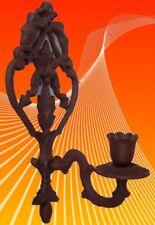 Wand Kerzen 1er Leuchter Lüster Antik Geschenk Vintage-Ästhetik Einzelstück